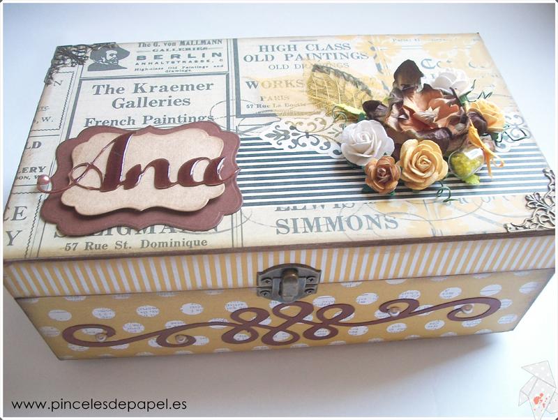 Caja de madera Ana 006